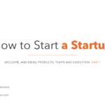スタートアップのアイデア、プロダクト、チーム、実行力 パート1