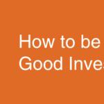 どうやって良いエンジェル投資家になるか